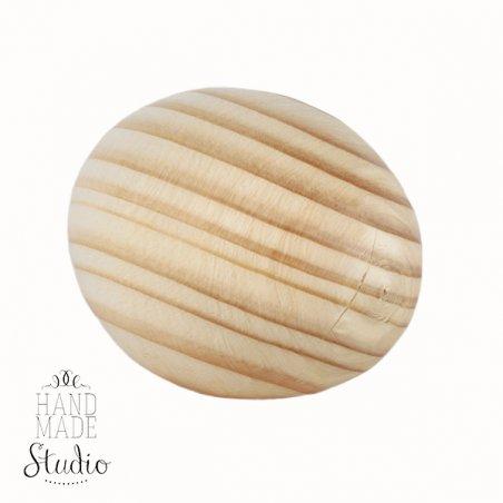 Деревянное яйцо, утиное (сосна), 6,5-7*4,8-5см