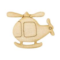 Деревянная заготовка Вертолет