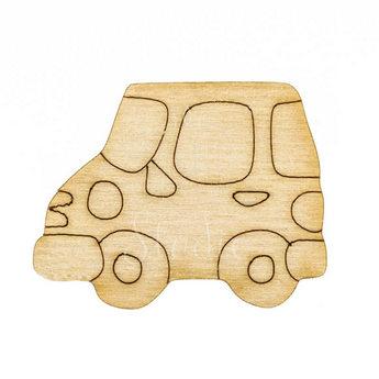 Деревянная заготовка Машинка