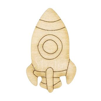 Деревянная заготовка Ракета