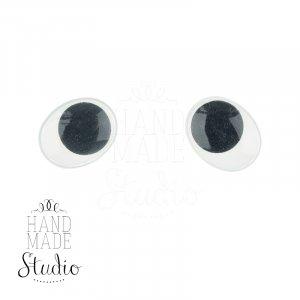 Глаза для игрушек и кукол, 0,3 см
