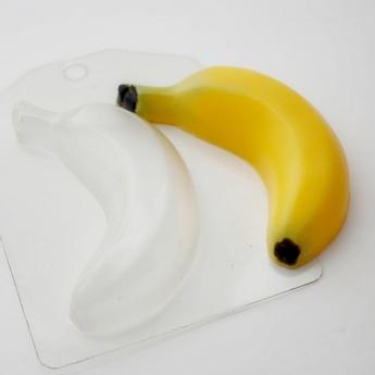 "Пластиковая форма для мыла ""Банан"""