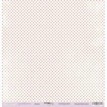 Лист односторонней бумаги 30x30 от Scrapmir Дымка из коллекции Сиреневые мечты