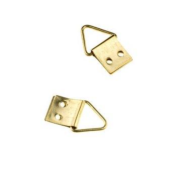 Петельки для заготовок, цвет золото 0.8 смх1,5 см, В205
