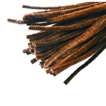 Синельная проволока, цвет коричневый