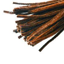 Синельная проволока, цвет коричневый, 30 см, 1 штука