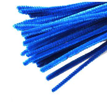 Синельная проволока, цвет синий