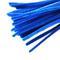 Синельная проволока, цвет синий, 30 см, 1 штука