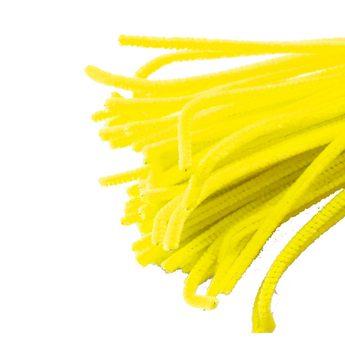 Синельная проволока, цвет желтый