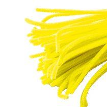 Синельная проволока, цвет желтый, 30 см, 1 штука