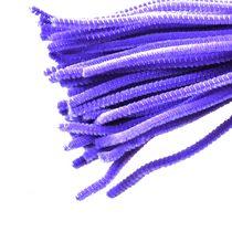 Синельная проволока, цвет фиолетовый, 30 см, 1 штука