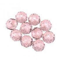 Бусины чешский хрусталь, цвет розовый прозрачный №29