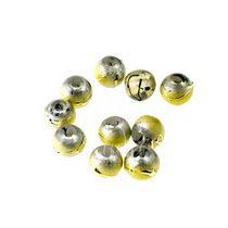 Бусины опаковое стекло, цвет светло желтый, 4 мм, №34, 10 шт