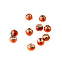 Бусины опаковое стекло, цвет красный, 4 мм, №36, 10 шт