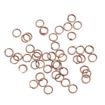 Соединительные кольца, цвет  медь 0,5 мм