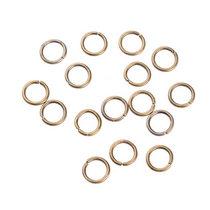 Соединительные кольца, цвет  бронза 0,8 см, 2 грамма