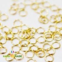 Соединительные кольца, цвет золото 0,4 см, 2г