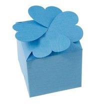 Бонбоньерка, цвет голубой