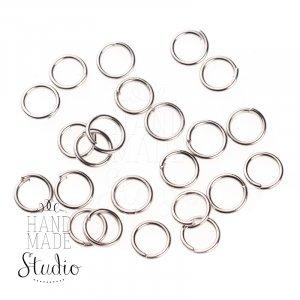Соединительные кольца, цвет  сталь 0,5 мм