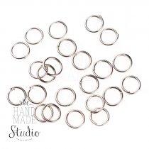 Соединительные кольца усиленные, цвет  сталь 0,5 мм