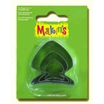 Каттеры для глины Makin's, рыбки