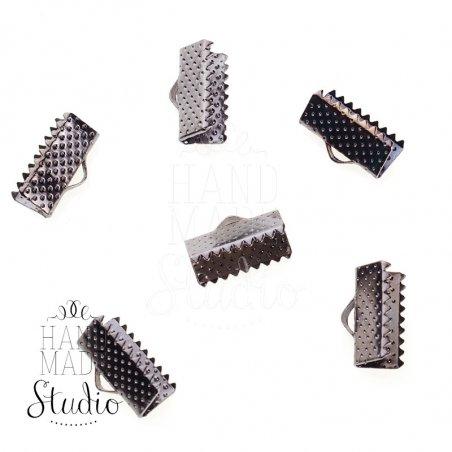 Зажимы для лент 13 мм, цвет - черный