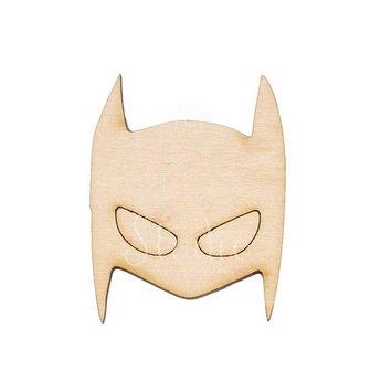 Деревянная заготовка маска Бэтмена