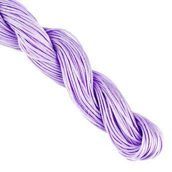 Нить бижутерная, цвет лиловый