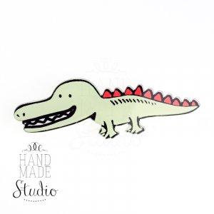 Значок Крокодил