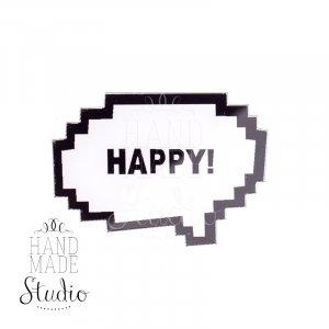 Значок HAPPY!