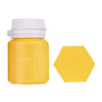 Акриловая латексная краска, 20 мл №11 цвет солнечный желтый
