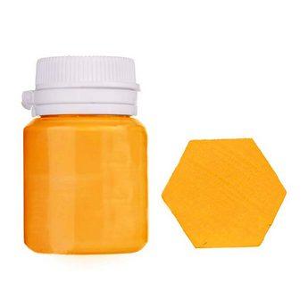Акриловая латексная краска, 20 мл №12 цвет теплый желтый