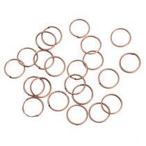 Соединительные кольца, цвет  медь 0,9 мм, 2г