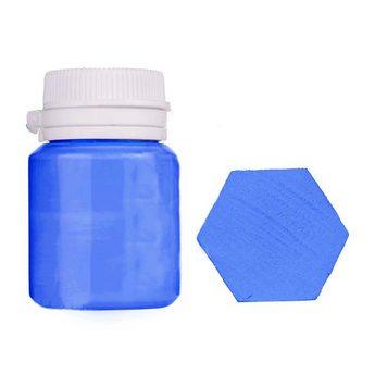Акриловая латексная краска, 20 мл №20 цвет пастельно-синий
