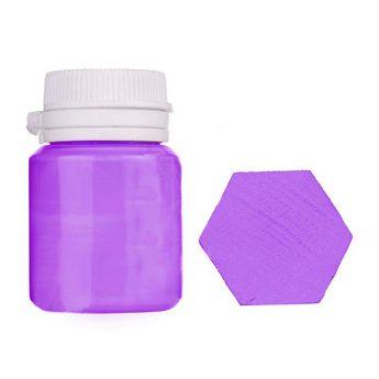 Акриловая латексная краска, 20 мл №21 цвет пастельно-фиолетовый