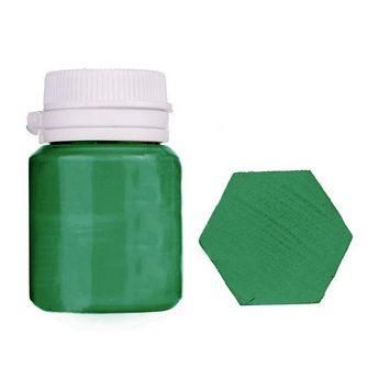 Акриловая латексная краска, 20 мл №24 цвет пастельно-зеленый
