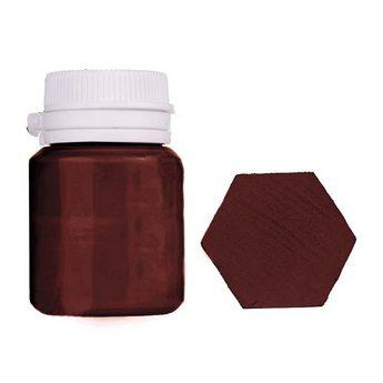 Акриловая латексная краска, 20 мл №25 цвет молочный шоколад