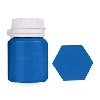 Акриловая латексная краска, 20 мл №26 цвет синий