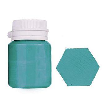 Акриловая латексная краска, 20 мл №28 цвет мятно-бирюзовый
