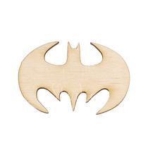 Деревянная заготовка Эмблема Бэтмена, 3,7х5,8 см