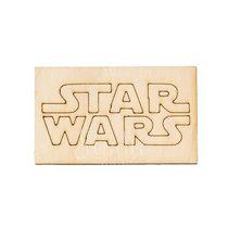 Деревянная заготовка Эмблема STAR WARS