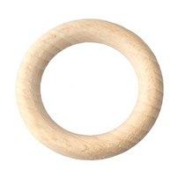 Кольцо деревянное неокрашенное, 5,4 см