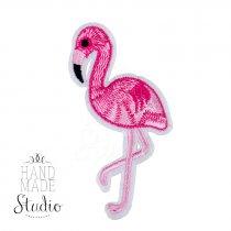 Термонашивка Розовый Фламинго
