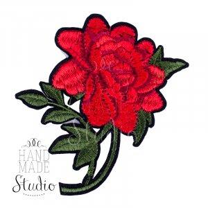 Термонашивка Роза №5