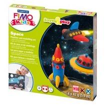 """Набор полимерной глины FIMO Kids Form & Play """"Космос"""" 8034 09"""