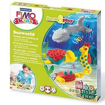 """Наборы полимерной глины FIMO Kids Form & Play """"Морской мир"""" 8034 14"""