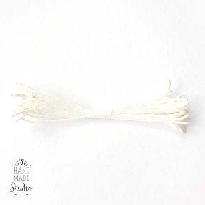 №14 Цветочные тычинки белые продолговатые