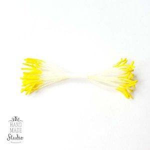 Цветочные тычинки бледно-желтые с желтыми концами №29