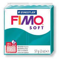 Полимерная глина Fimo Soft, 56г, №36, сине-зеленый