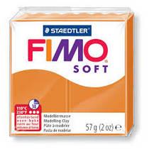 Полимерная глина Fimo Soft, 57 г, №41, солнечно-оранжевый